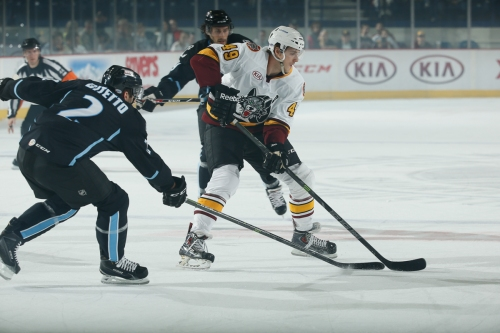 (Photo Credit: Ross DettmanChicago Wolves)